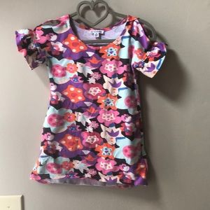 Toddler boutique floral dress.